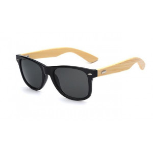 Stylish Bamboo Temple UV 400 Protection Sunglasses